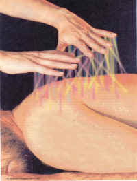 Energy coming from hands when using Therapeutic Touch