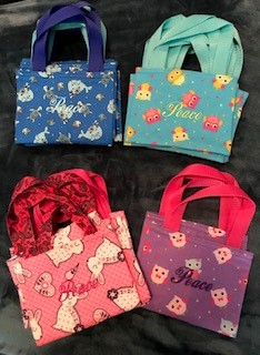 Assorted Peace Totes for the Young at Heart